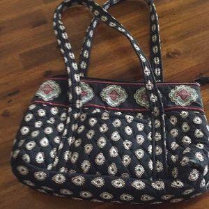 Vera Bradley purse classic black retired pattern